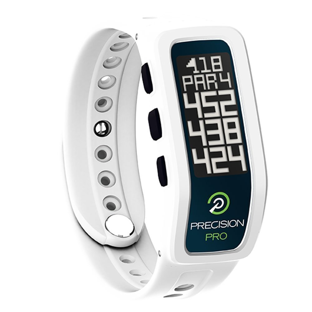 Precision Pro Golf GPS Band (White) GIFT BOX | Bundle includes Golf GPS Band, PlayBetter USB Car & Wall Charging Adapters, PlayBetter Hard Case | Gift Box & Red Bow by Precision Pro (Image #2)