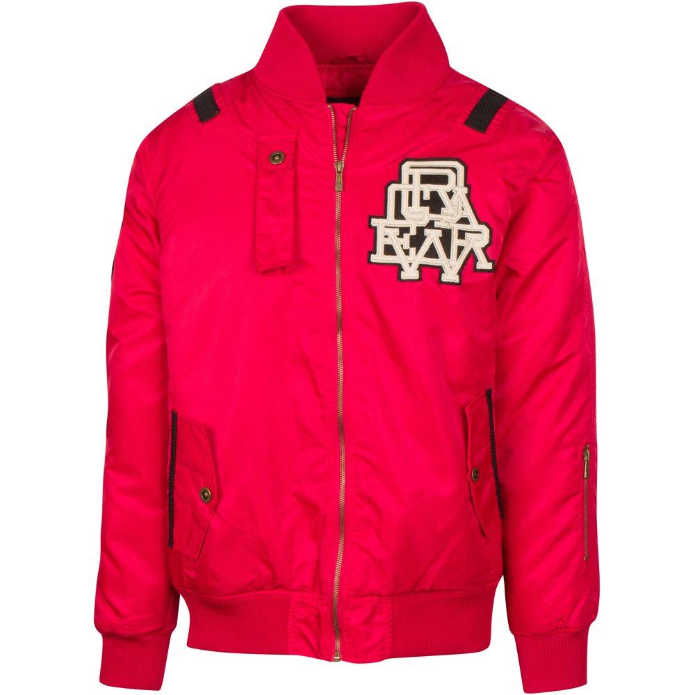 Rocawear Mens Parka Styled Varsity Jacket Coat Green)