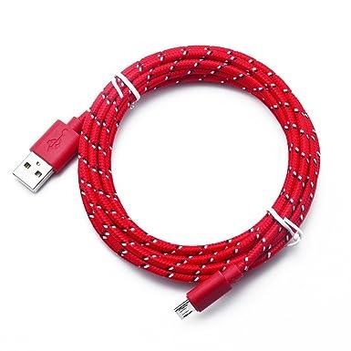 Amazon.com: Orcbee - Cable de datos micro USB para teléfono ...