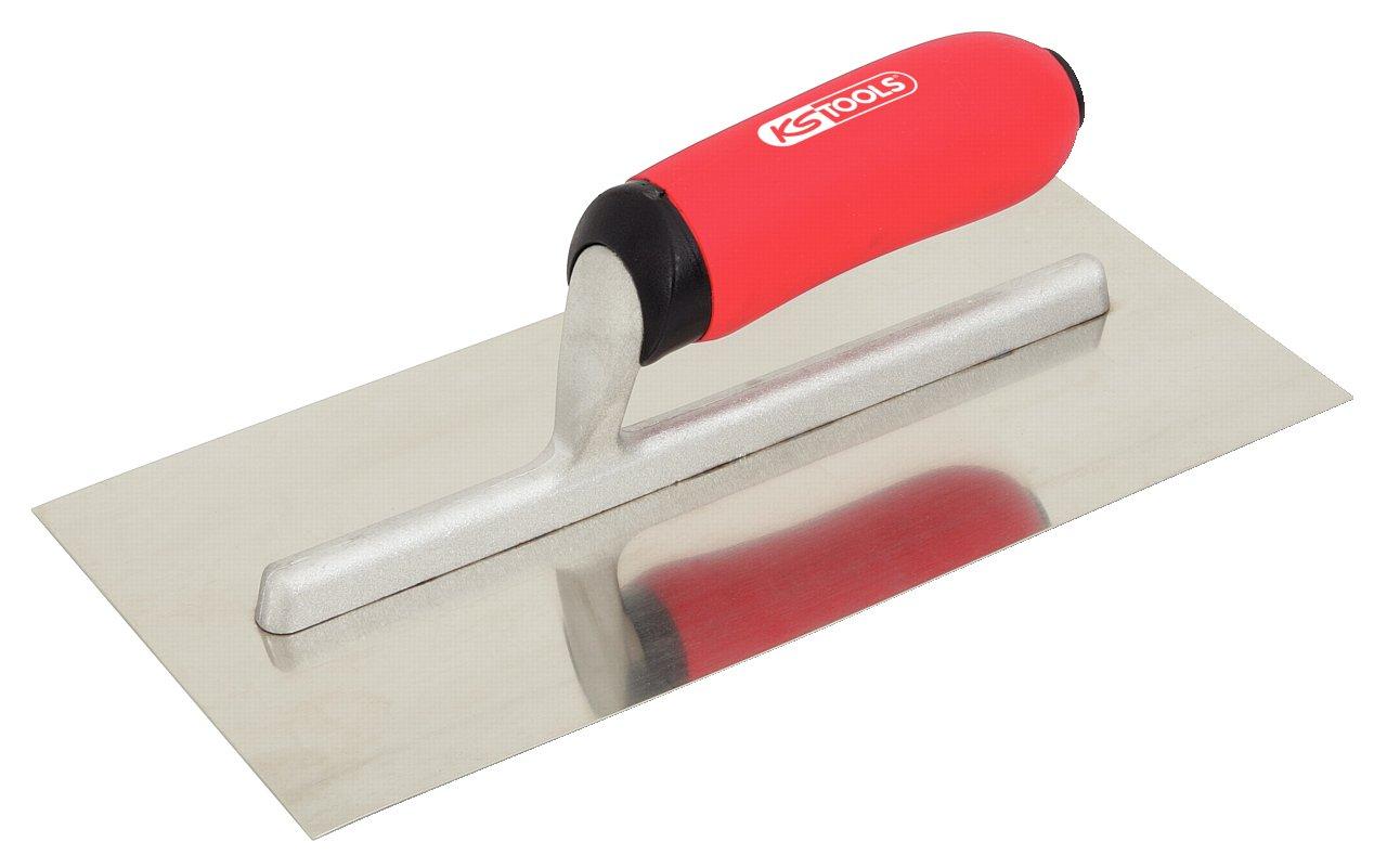 KS Tools 144.0458 Stainless steel plastering trowel, 280mm 4042146161210