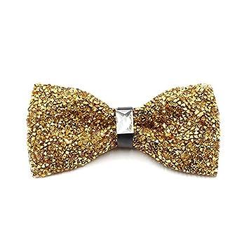 a9e3334e37380 Weentop Noeud Papillon en Cristal Brillant Brillant avec nœud Papillon  pour fête