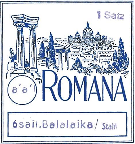 Romana Romana Saite für Balalaika Prim Satz 3-saitig