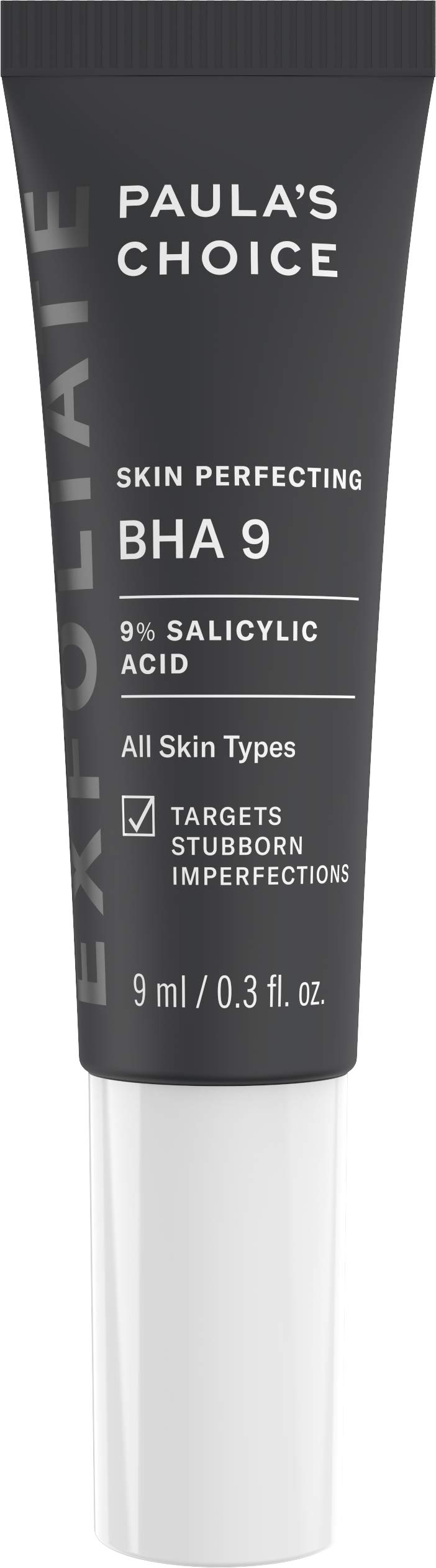 Paula's Choice Skin Perfecting BHA 9 Spot Treatment, 9% Salicylic Acid Exfoliant for Large Pores & Milia Prone Skin, 0.3 Ounce, PACKAGING MAY VARY