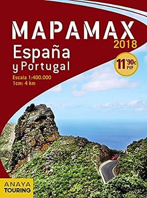 Mapamax - 2018 (Mapa Touring): Amazon.es: Anaya Touring: Libros