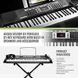 Alesis Melody 61 Portable 61-Key Keyboar