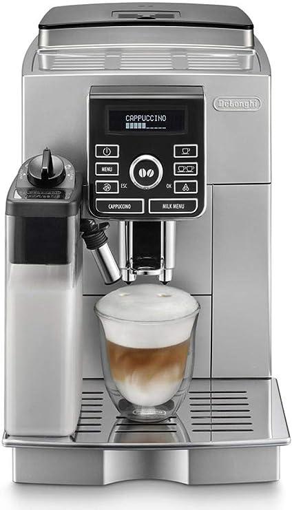 DeLonghi ECAM 25.462.S Cafetera Independiente, Totalmente automática, 1500 W, 1.8 L, 15 bares, 45 dB, 2 tazas, acero inoxidable: Amazon.es: Hogar