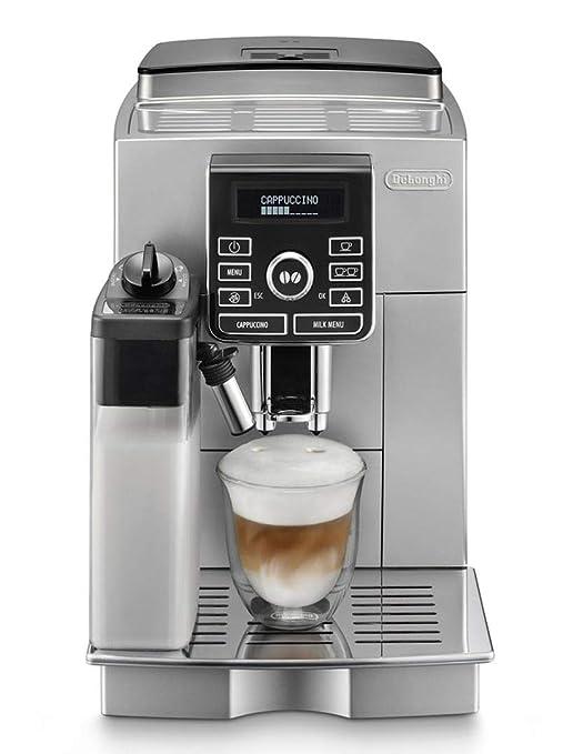 DeLonghi ECAM 25.462.S Cafetera Independiente, Totalmente automática, 1500 W, 1.8 L, 15 bares, 45 dB, 2 tazas, acero inoxidable