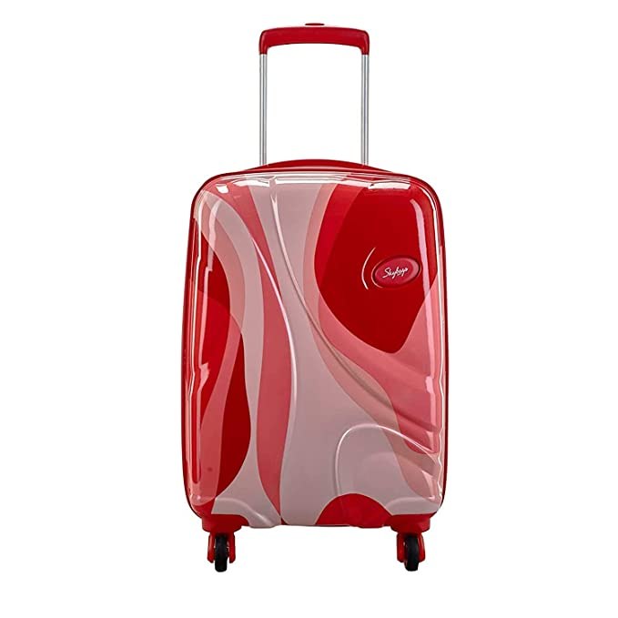Skybags Polycarbonate Hard Cabin Luggage  Dio 123_Coral  Suitcases   Trolley Bags