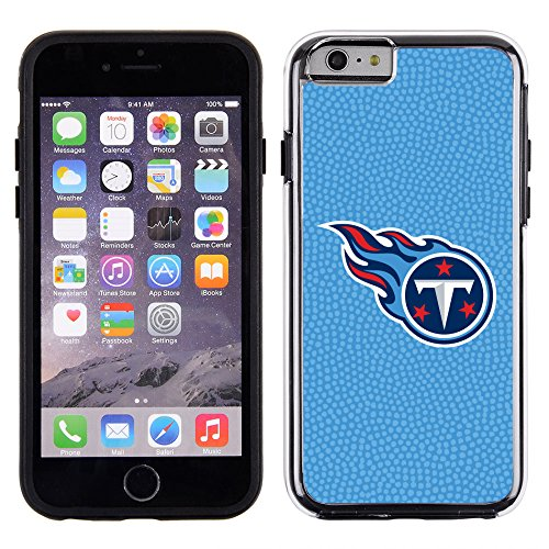 NFL Tennessee Titans Football Pebble Grain Feel No Wordmark iPhone 6 Case, Team Color