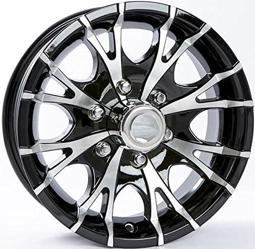 eCustomRim 7 Star Aluminum Trailer Wheel Rim 15x6 6 Hole 5.5