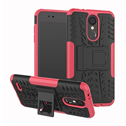 miglior sito web ead99 fa322 LG K9 Case, LG K9 Hybrid Case, Dual Layer Shockproof Impact Resistant  Hybrid Rugged Case Hard Shell Cover with Kickstand for 5.0'' LG K9