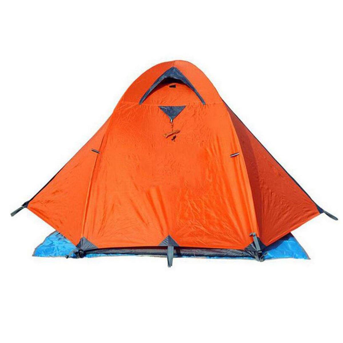 TZQ Parenting Multiplayer Camping Freizeitzelte,Orange