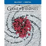 Game of Thrones: Season Seven (Blu-Ray+Digital) Exclusive Sigil Packaging with Exclusive 45 Minute Conquest & Rebellion