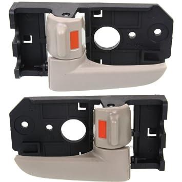 NEW FRONT LEFT SIDE INTERIOR DOOR HANDLE FOR 2004-2009 KIA SPECTRA KI1352116