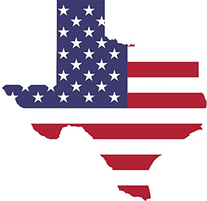 Pack Of 4 5x5quot Texas Car Decal Bumper Sticker Vinyl Flag Lone Star State Outline