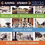 Debussy: La Mer; Respighi: Fountains...