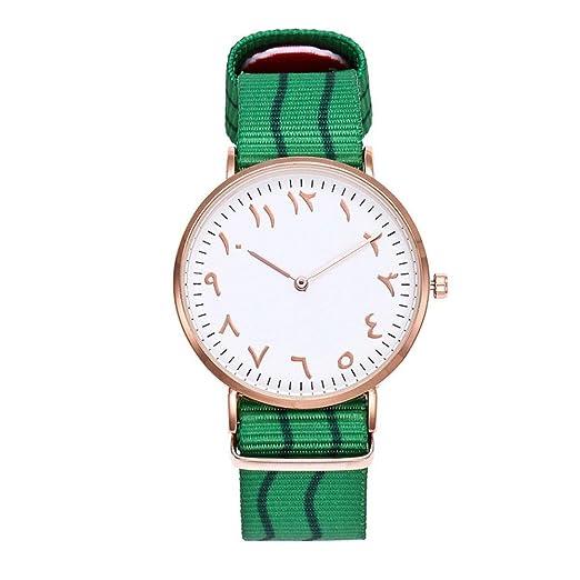 Relojes Mujer Baratos, SMARTLADY Analógico Cuarzo Relojes de pulsera Nylon colores Banda ,Elegantes Oferta