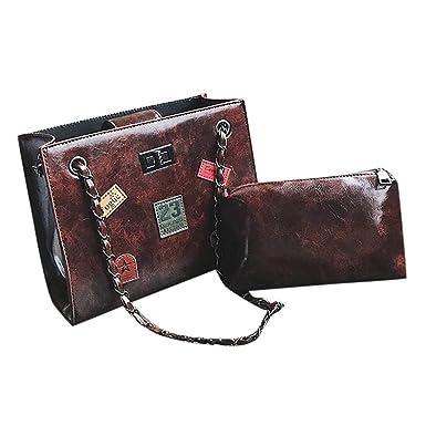 Amazon.com: Fainosmny Bolsas para mujer, bolso de mano ...