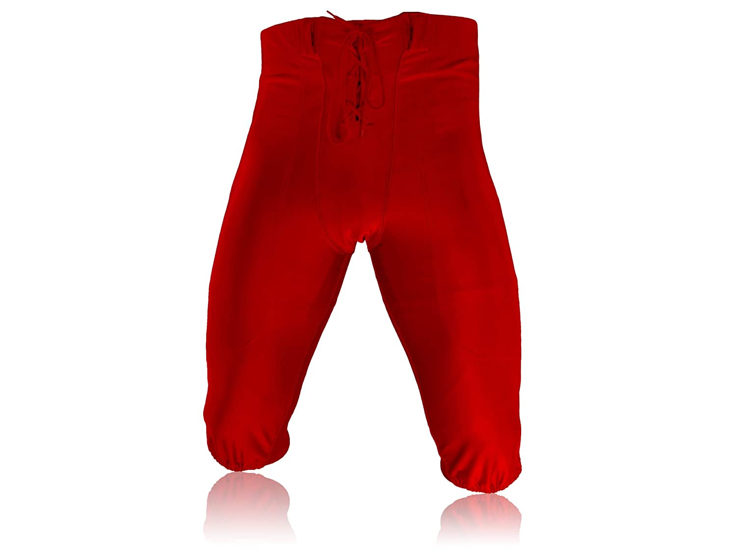 Full Force American football professional pants red stretch size YL-5XL