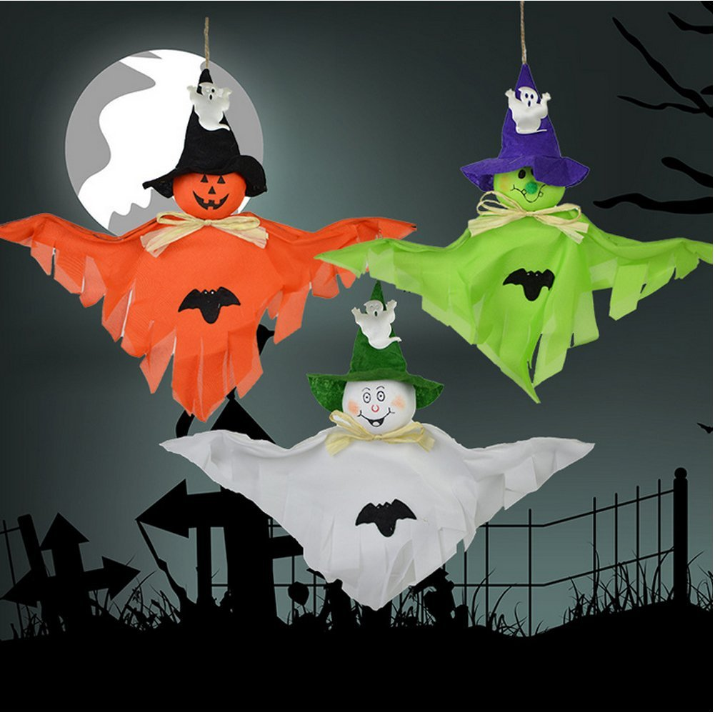 Some Halloween Thoughts About Specter >> Amazon Com Ehdching 3pcs 15 Halloween Cute Ghost Specter For