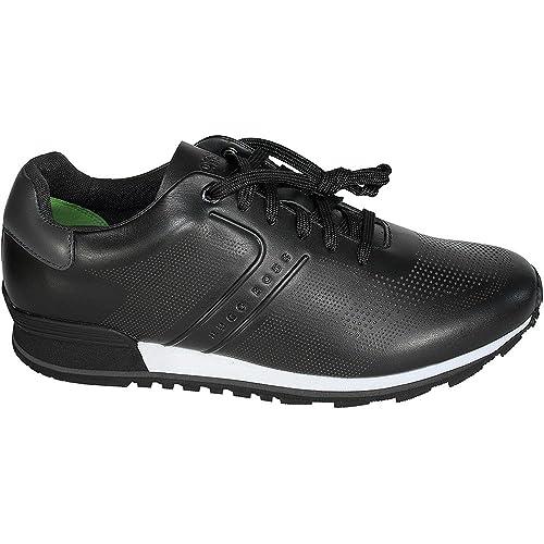 BOSS Hugo Boss - Zapatillas para Hombre, Color Negro, Talla 46 EU: Amazon.es: Zapatos y complementos