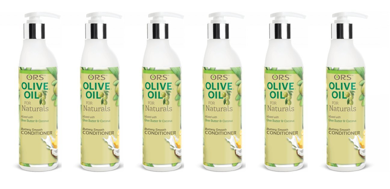 (PACK OF 6) ORS Olive Oil For Naturals Buttery Smooth Conditioner 12 oz