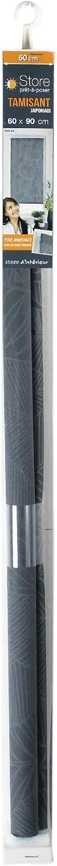 Bianco 45 x 180 cm store dint/érieur Tenda avvolgibile Imp in Poliestere Giapponese Batik