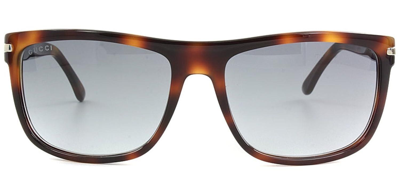 Amazon.com: Gucci anteojos de sol 1027/marco: café Havana ...