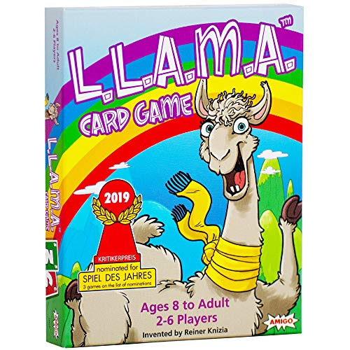 AMIGO Don't L.L.A.M.A. Llama-Themed Family Card Game, Nominated for The Spiel Des Jahres (Game of The Year)