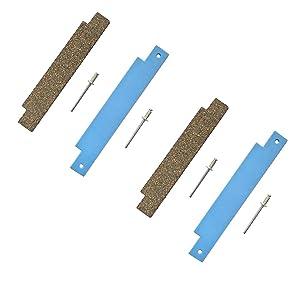 LONYE 306508 Dryer Tumbler Bearing Kit for Whirlpool Maytag Crosley Dryer Front Glide Kit 306508VP AP4037304 PS1804752 (Set of 2)