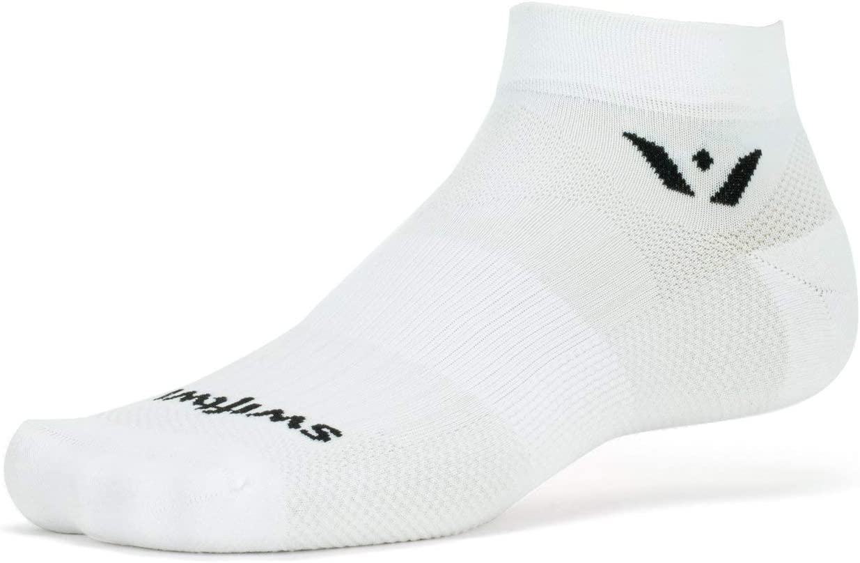 Swiftwick- ASPIRE ONE Running & Cycling Socks, Mens & Womens, Wicking, Lightweight