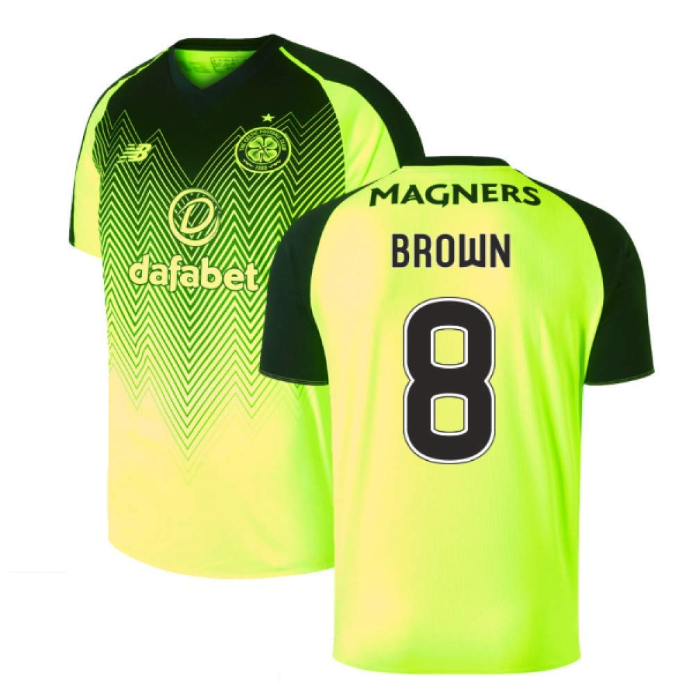 2018-2019 Celtic Third Football Soccer T-Shirt Trikot (Scott Braun 8)