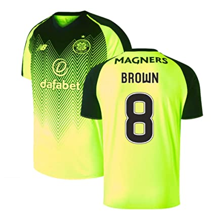 huge selection of db49b 5932f Amazon.com : 2018-2019 Celtic Third Football Soccer T-Shirt ...
