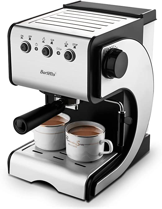 Amazon.com: Máquina de café espresso con sistema de alta ...