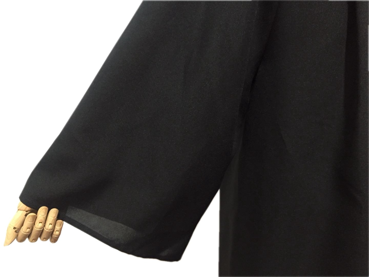 Leishungao Adult Black Choir Robe Matte Finish for Choir Clergy ReligiousWearing Height 5'9''-5'11''FF by Leishungao (Image #2)