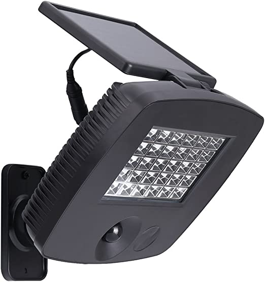 Mabor Foco LED Exterior Solar, Lámpara para Exterior, Foco de ...