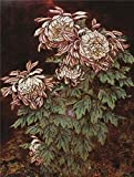 40 dollar steam gift card - Oil Painting 'Huang Shan,Chrysanthemums,20th Century' 12 x 16 inch / 30 x 40 cm , on High Definition HD canvas prints is for Gifts And Dining Room, Laundry Room And Powder Room Decoration
