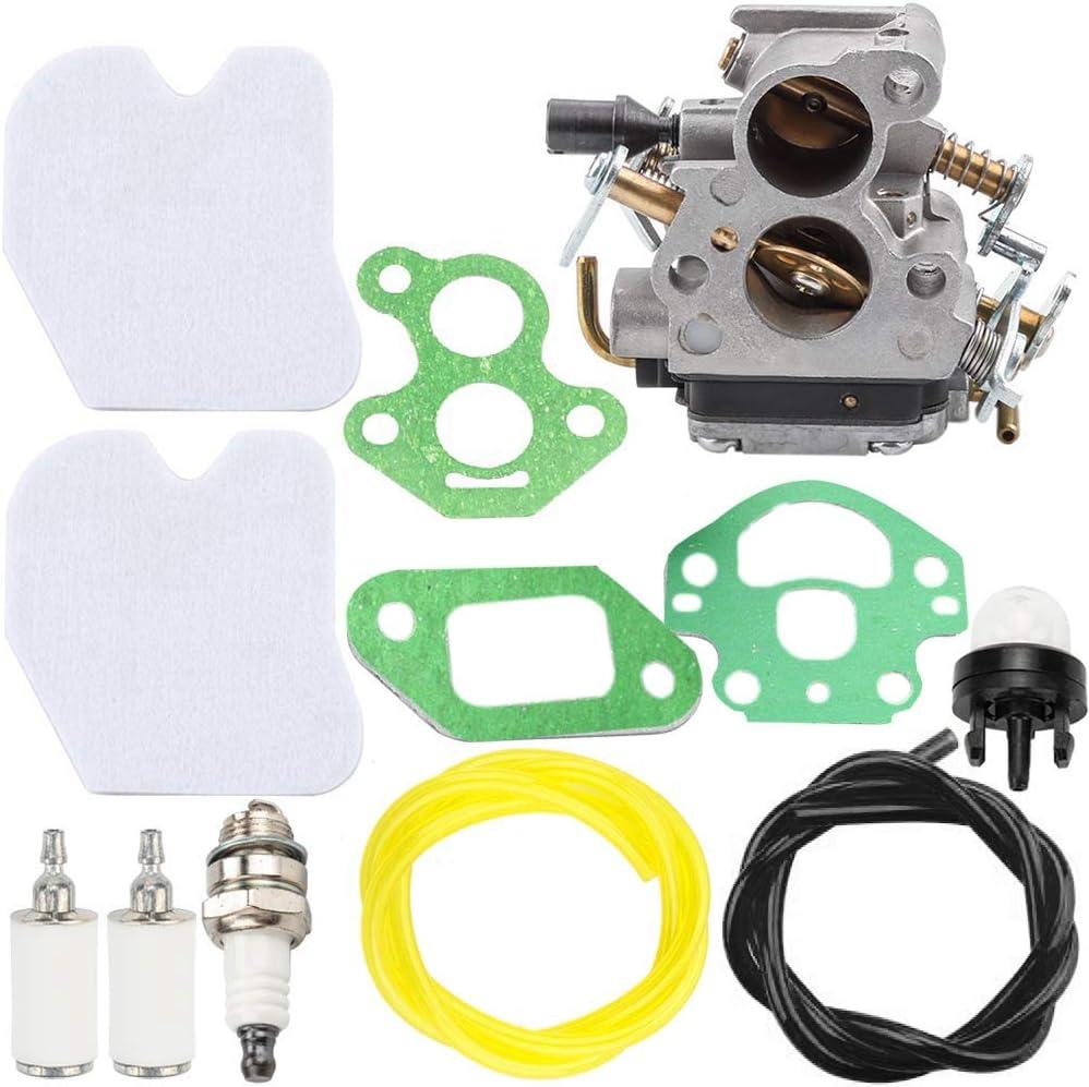 Cikuso Kit de Carburateur pour Zama 240 240E 235 235E 586936202 C1T-W33 Carb Voiture Moto Scie /à Cha?Ne Chainsaw