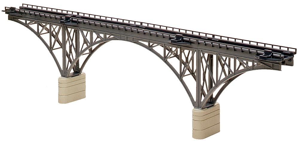 Faller 222581 Deck STL Arch Bridge N Scale Building Kit, 16''
