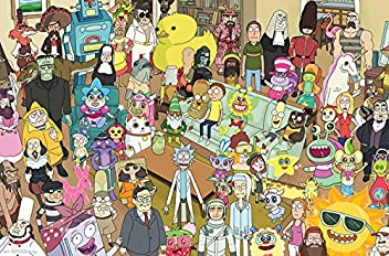 Trends International Rick and Morty Group Prints, ...