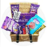 The Mini Cadburys English Wicker Hamper - By Moreton Gifts, Perfect Gift.