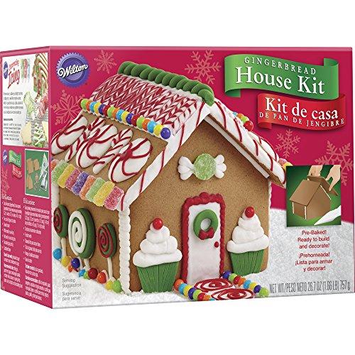 Wilton 2104-1952 Un-Assembled Petite Gingerbread House