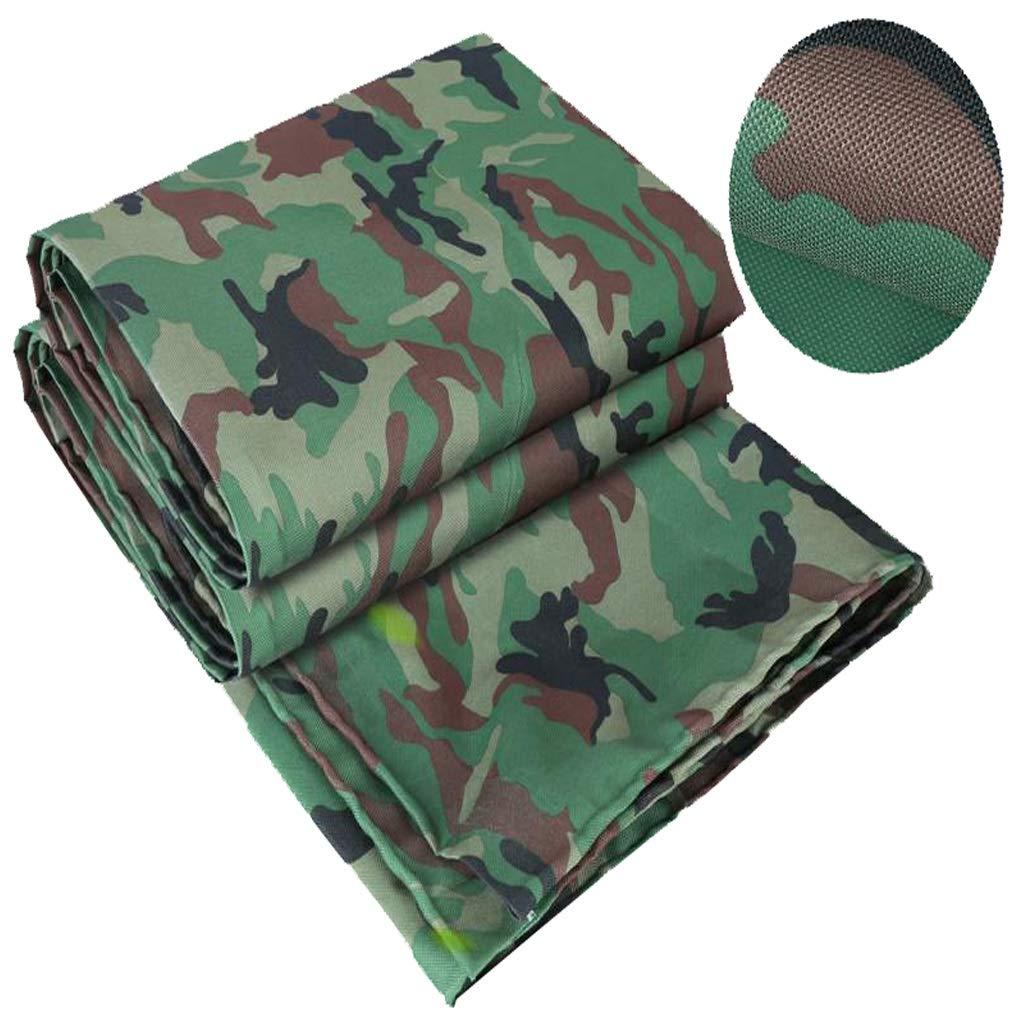 3x6m BÂche de camouflage, bÂche extérieure imperméable à l'eau de pluie de toile de jungle de prougeection solaire imperméable ultra légère douce de polyéthylène tissée par poly&eacu