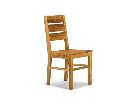 Sedie In Rovere Per Cucina.Sedia In Legno Rovere Miele Barrow Amazon It Casa E Cucina