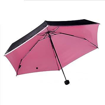 Paraguas Plegables Anti-ULTRAVIOLETA Del Recorrido Parasol Ultra Compacto De La Píldora Del Parasol De