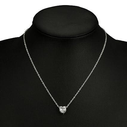 acogedor fresco minorista online la mejor moda PAOLIAN Collares para mujer baratos Simple brillante ...