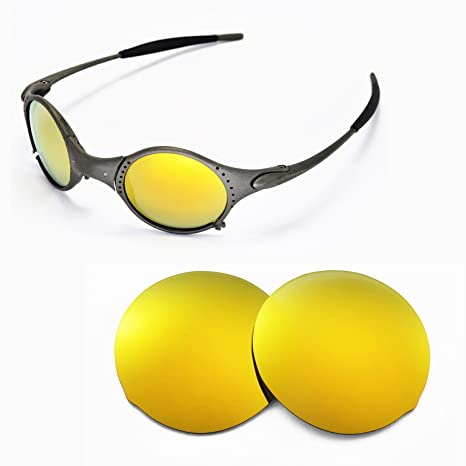 814116bb66 Walleva Replacement Lenses for Oakley Mars Sunglasses - Multiple Options  Available (24K Gold Mirror Coated