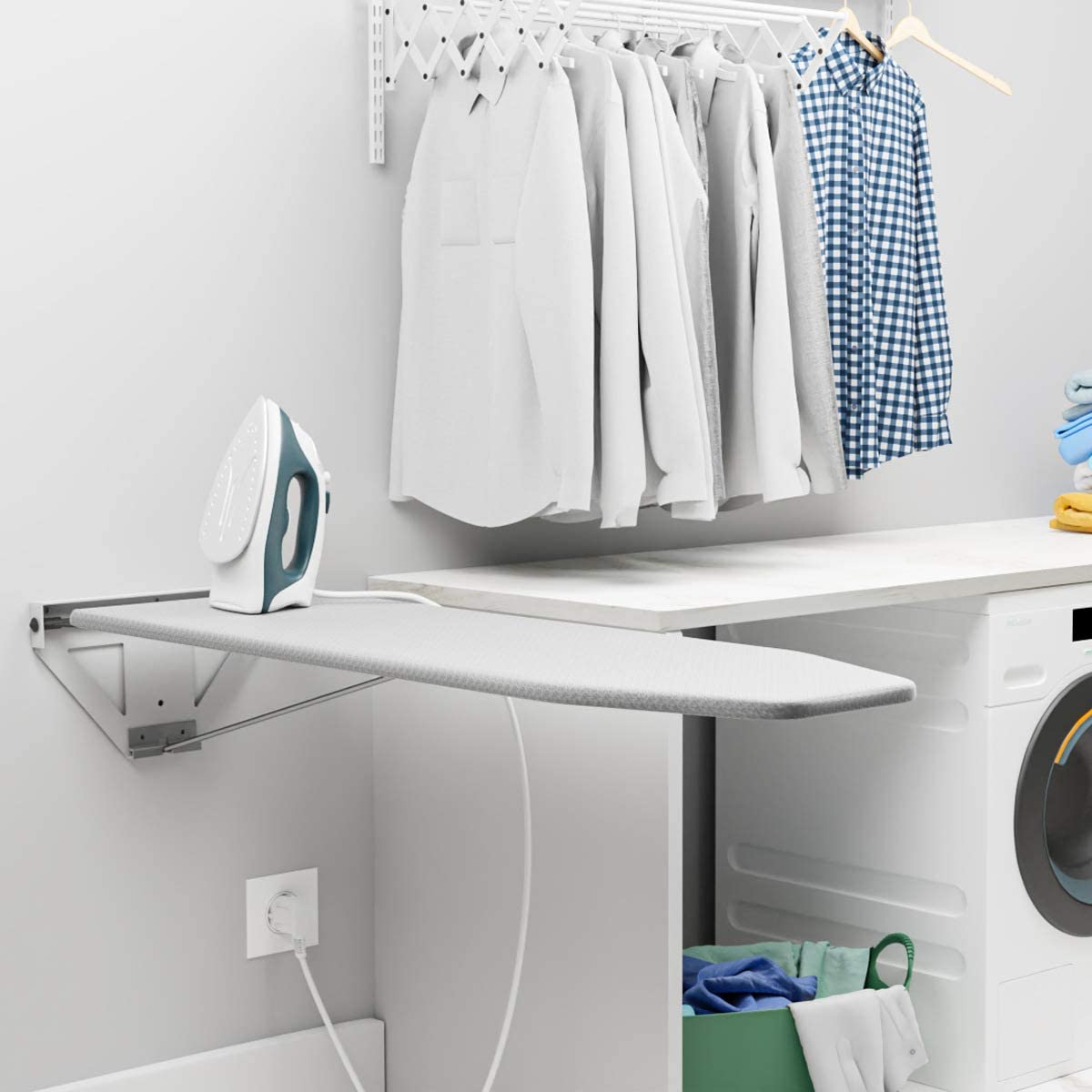 pull down ironing board