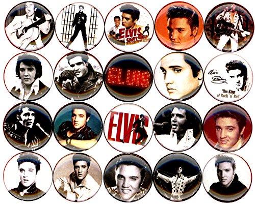 Elvis Presley x 20 1