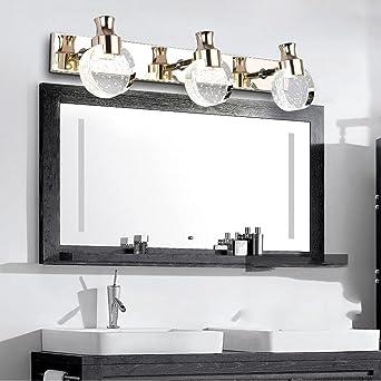 Spiegellampen- Badezimmer Moderne einfache LED Kristall wasserdicht ...